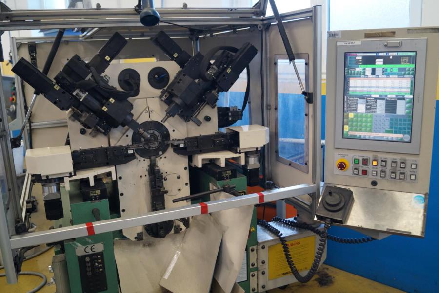 Zwei- und dreidimensional gekrümmte Drahtprodukte VRC springs